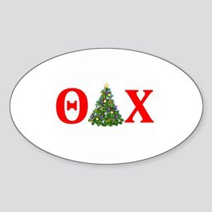 Theta Delta Chi Christmas Sticker