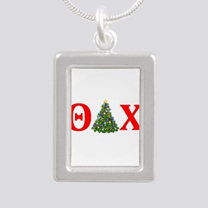 Theta Delta Chi Christmas Necklaces