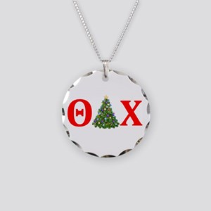 Theta Delta Chi Christmas Necklace