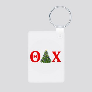 Theta Delta Chi Christmas Keychains