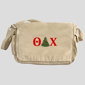 Theta Delta Chi Christmas Messenger Bag