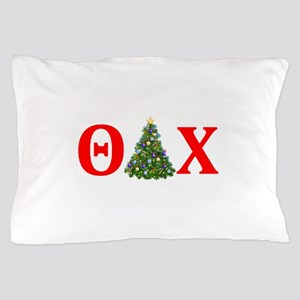 Theta Delta Chi Christmas Pillow Case