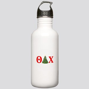 Theta Delta Chi Christmas Water Bottle