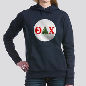 Theta Delta Chi Christmas Women's Hooded Sweatshir