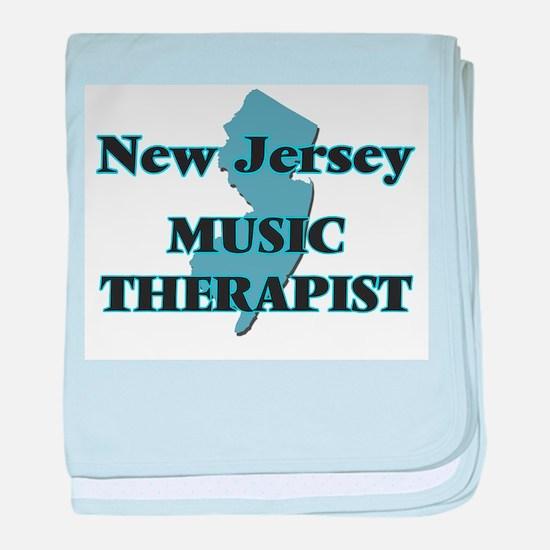New Jersey Music Therapist baby blanket