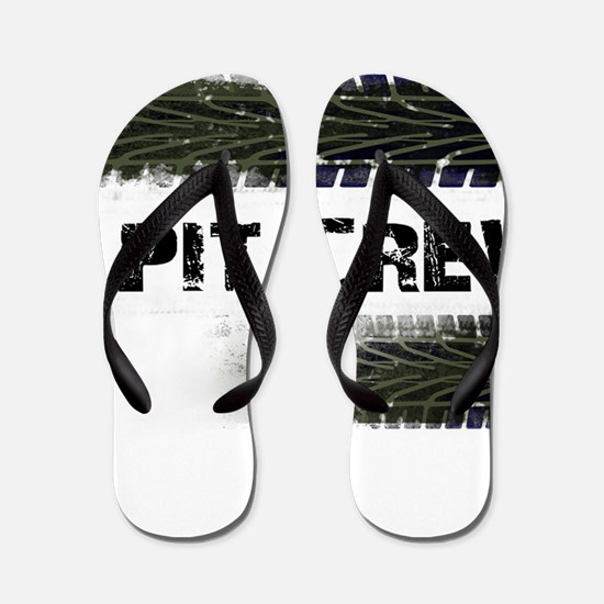 Pit Crew Flip Flops