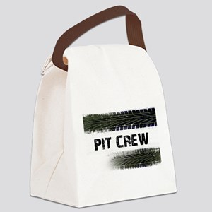 Pit Crew Canvas Lunch Bag