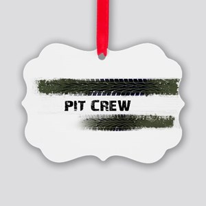 Pit Crew Picture Ornament