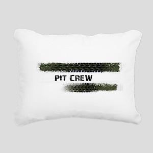 Pit Crew Rectangular Canvas Pillow