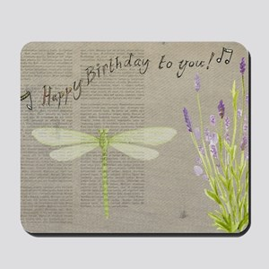 happy birthday Mousepad