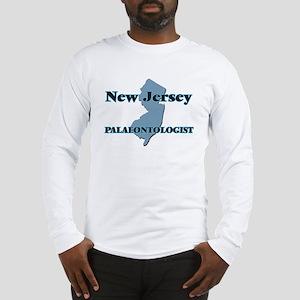 New Jersey Palaeontologist Long Sleeve T-Shirt