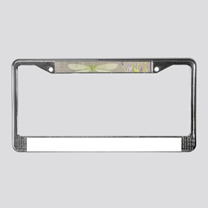 happy birthday License Plate Frame