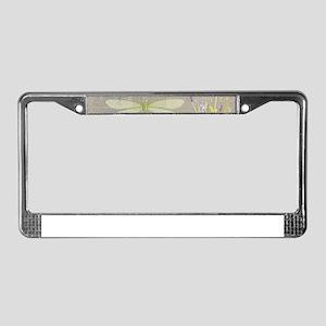happy birthday License Plate Frame