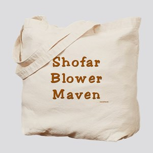 Shofar Blower Maven Tote Bag