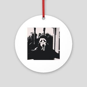 Ghostface Round Ornament