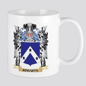 Robarts Coat of Arms - Family Crest Mugs