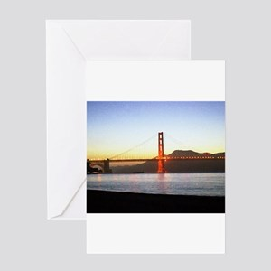Painted Bridge Greeting Cards
