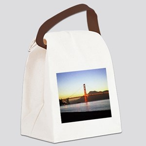 Painted Bridge Canvas Lunch Bag