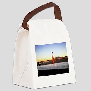 Painted Bridge Canvas Lunch Bag