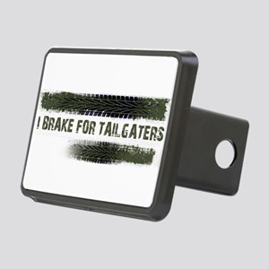 I BRAKE FOR TAILGATERS Rectangular Hitch Cover