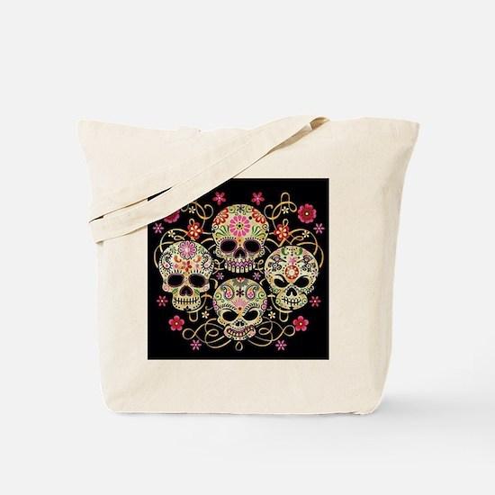 Sugar Skulls III Tote Bag