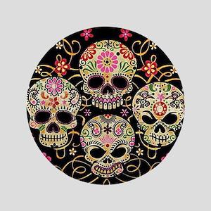 Sugar Skulls III Button