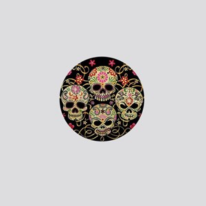 Sugar Skulls III Mini Button