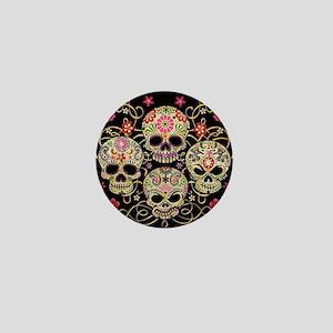 Sugar Skulls III Mini Button