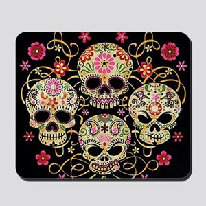 Sugar Skulls III Mousepad