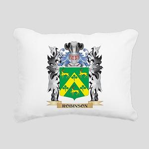 Robinson Coat of Arms - Rectangular Canvas Pillow