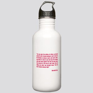MEREDITH QUOTE Stainless Water Bottle 1.0L