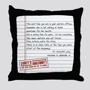 THE DOCTORS OFFICE Throw Pillow