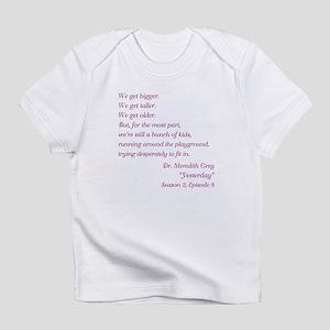 YESTERDAY Infant T-Shirt