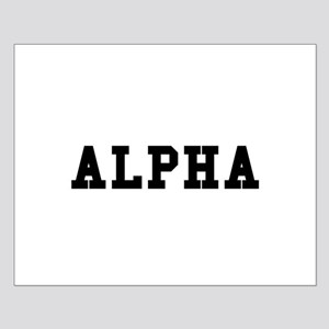 Alpha Posters