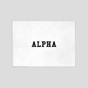 Alpha 5'x7'Area Rug