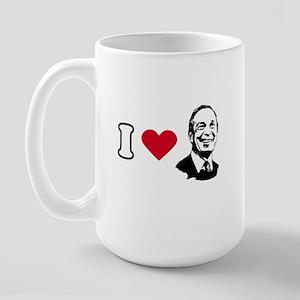 I Love Bloomberg Large Mug