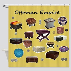 Ottoman Empire Shower Curtain