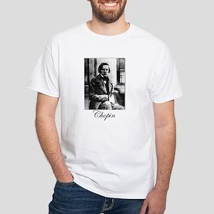 Chopin White T-Shirt