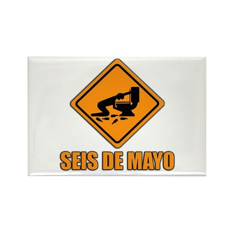 Seis De Mayo Rectangle Magnet (10 pack)