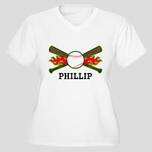 Baseball (p) Plus Size T-Shirt