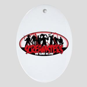 Screamster 2015 Oval Ornament