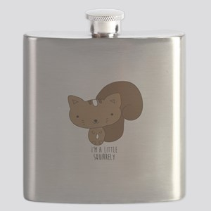 A Little Squirrely Flask