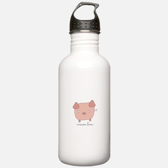 Camera Ham Water Bottle