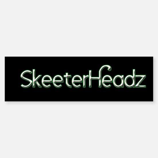 SkeeterHeadz Bumper Bumper Bumper Sticker