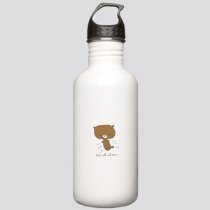 Plays Well With Otters Stainless Water Bottle 1.0L
