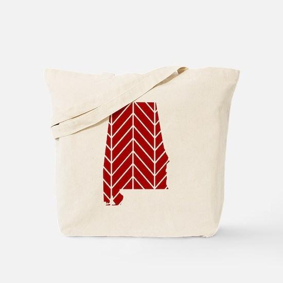 Alabama Chevron Tote Bag