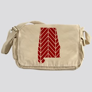 Alabama Chevron Messenger Bag