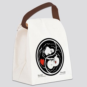 Sacred-Pro-Life TM Canvas Lunch Bag