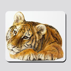 young tiger Mousepad