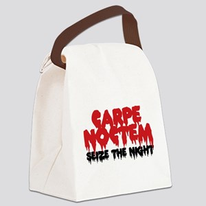Carpe Noctem Canvas Lunch Bag